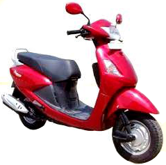 Hero Honda Pleasure